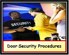 Door Security Procedures
